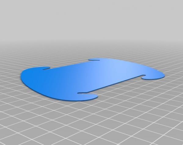 拼图灯罩 3D模型  图3