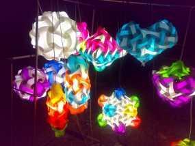拼图灯罩 3D模型