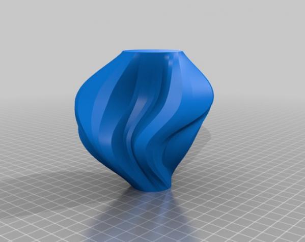 PrettyTron花瓶 3D模型  图2