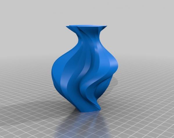 PrettyTron花瓶 3D模型  图4