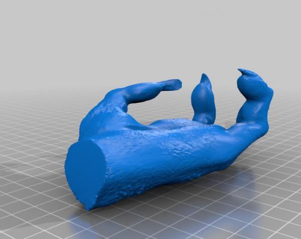 巨魔雕像 3D模型  图4