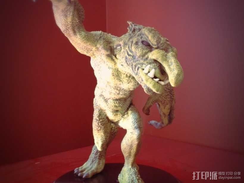 巨魔雕像 3D模型  图10