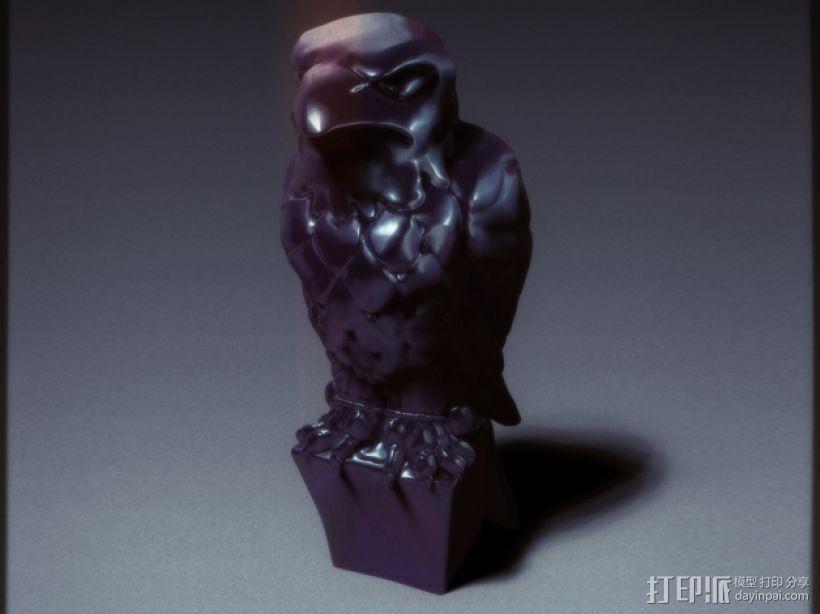 马耳他猎鹰 雕像模型 3D模型  图1