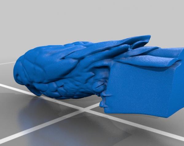 马耳他猎鹰 雕像模型 3D模型  图2
