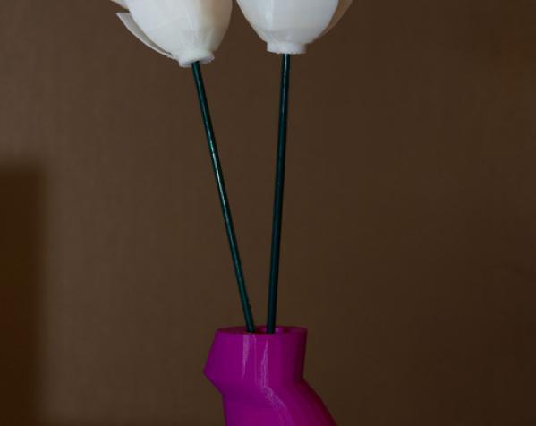 花瓶(婚礼用) 3D模型  图4