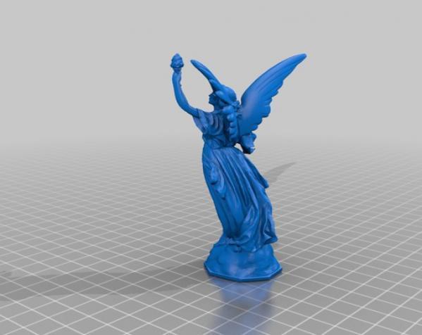 Lucy雕像 3D模型  图2