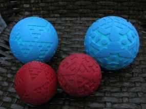 八面体对称图形 小球 3D模型