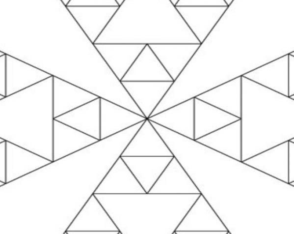 八面体对称图形 小球 3D模型  图3