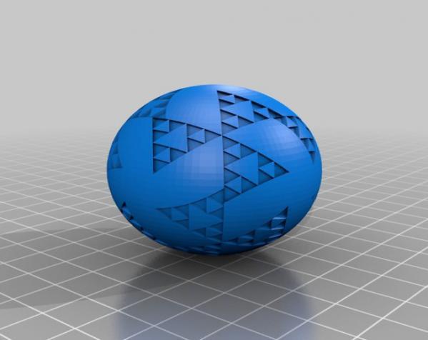 八面体对称图形 小球 3D模型  图4