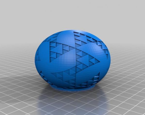 八面体对称图形 小球 3D模型  图5