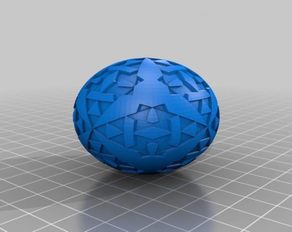 八面体对称图形 小球 3D模型  图6