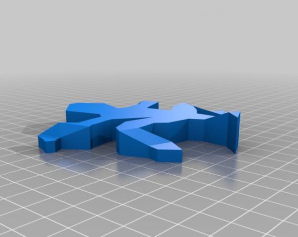 蜥蜴 3D模型  图2