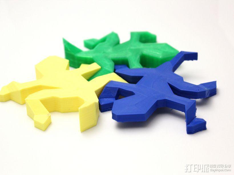 蜥蜴 3D模型  图6