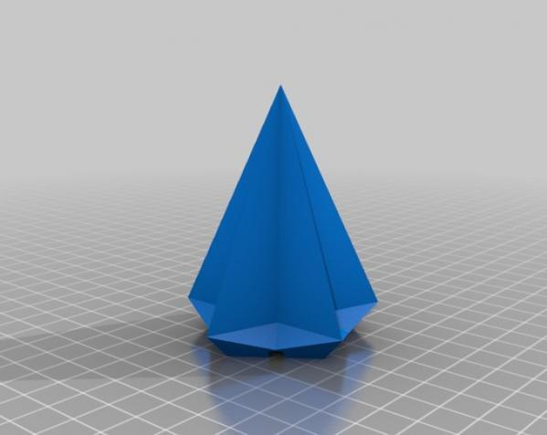USB圣诞星 3D模型  图2