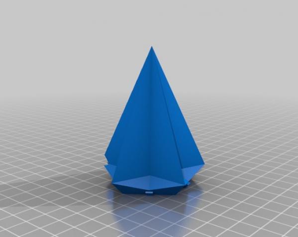 USB圣诞星 3D模型  图3