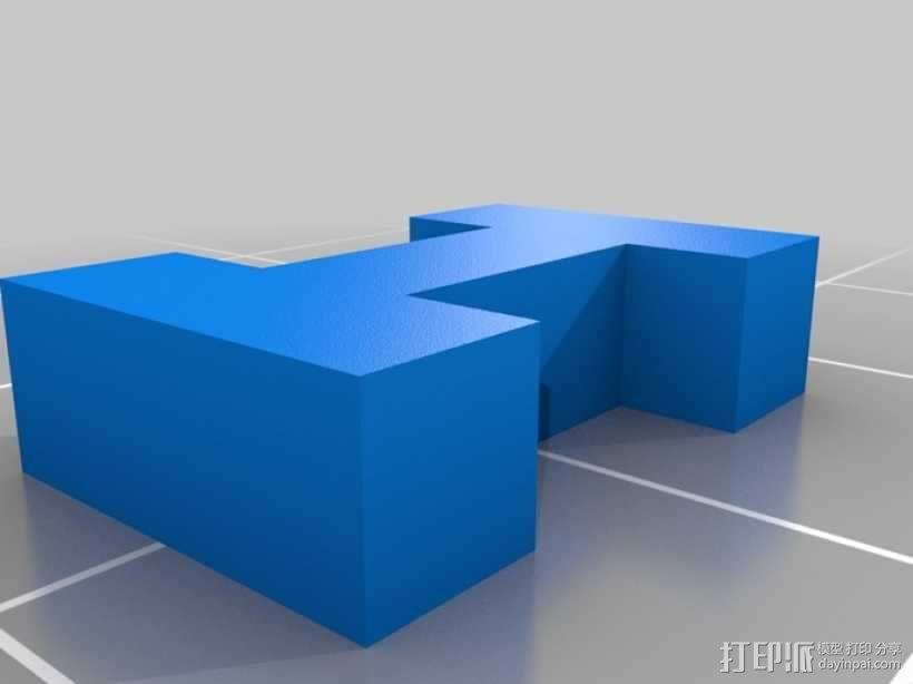 USB圣诞星 3D模型  图7