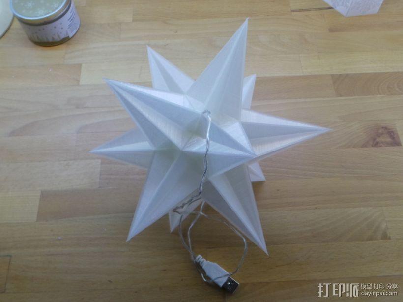 USB圣诞星 3D模型  图6