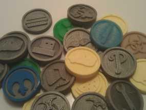 硬币 3D模型