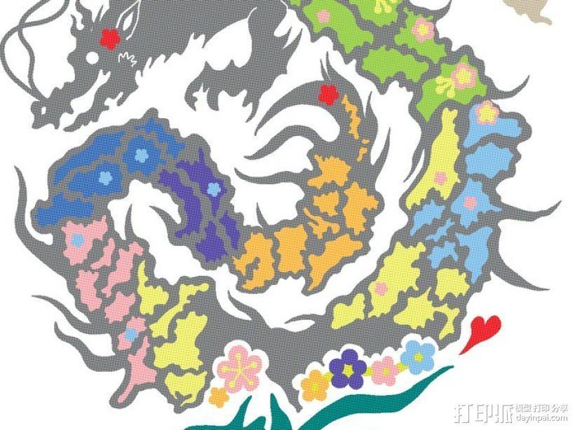 复活的龙  模型 3D模型  图1