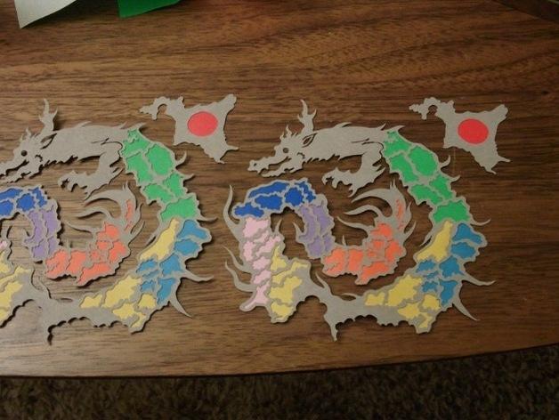 复活的龙  模型 3D模型  图3