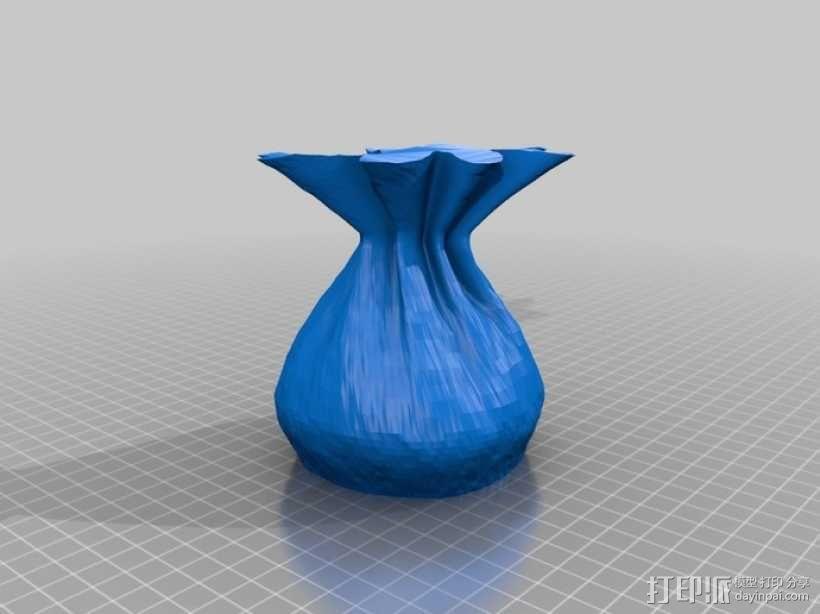麻布袋 模型 3D模型  图4
