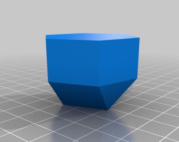 彩色多面体装饰物 3D模型  图3
