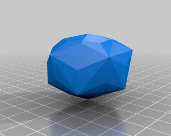 彩色多面体装饰物 3D模型  图7