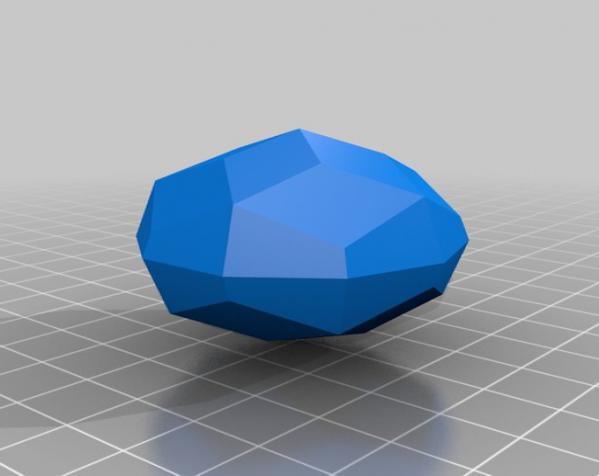 彩色多面体装饰物 3D模型  图5