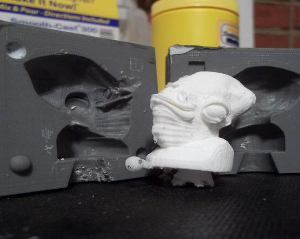 两半成型模具 3D模型  图10