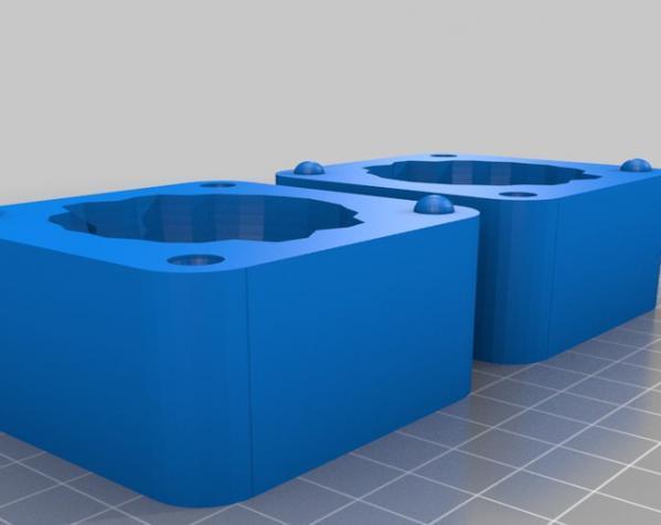 两半成型模具 3D模型  图12