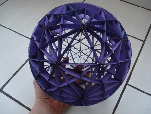 大圆球 (由31个圆环组成) 3D模型  图2