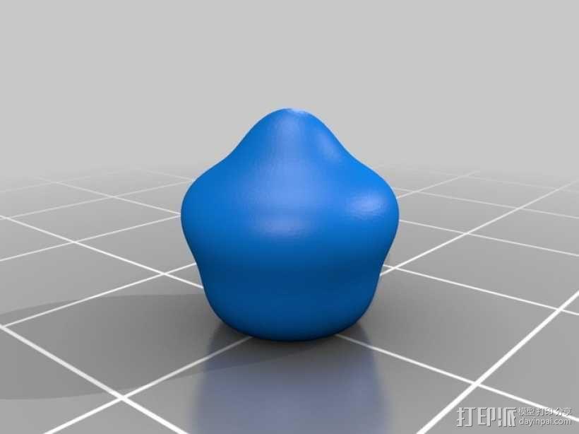球谐函数形状 圣诞球 3D模型  图5