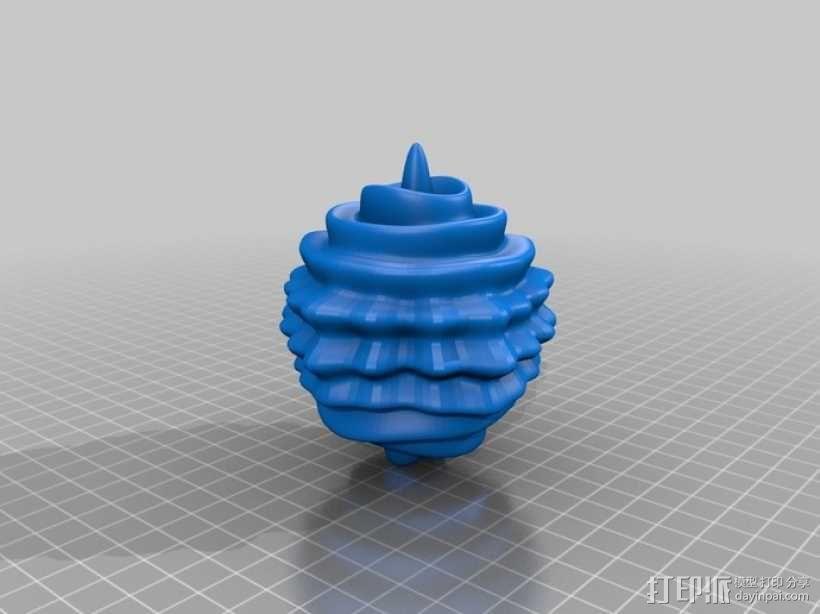 球谐函数形状 圣诞球 3D模型  图12