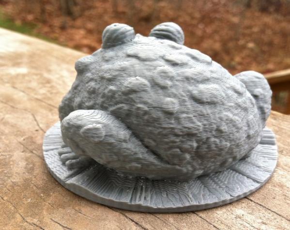 园子里的蟾蜍  3D模型  图4