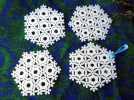 几何边 雪花 3D模型 图1