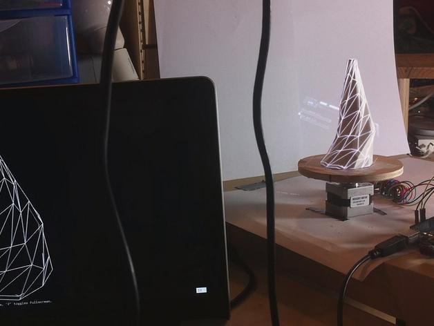 低聚花瓶  3D模型  图3