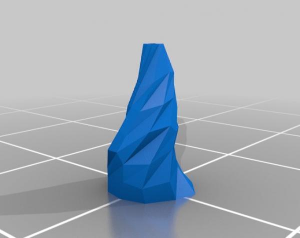 低聚花瓶  3D模型  图4
