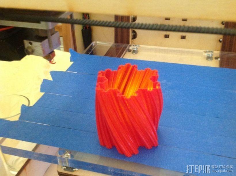 Koch雪花形状的花瓶 3D模型  图7