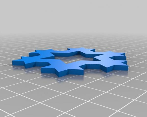科赫雪花(Koch)  3D模型  图5
