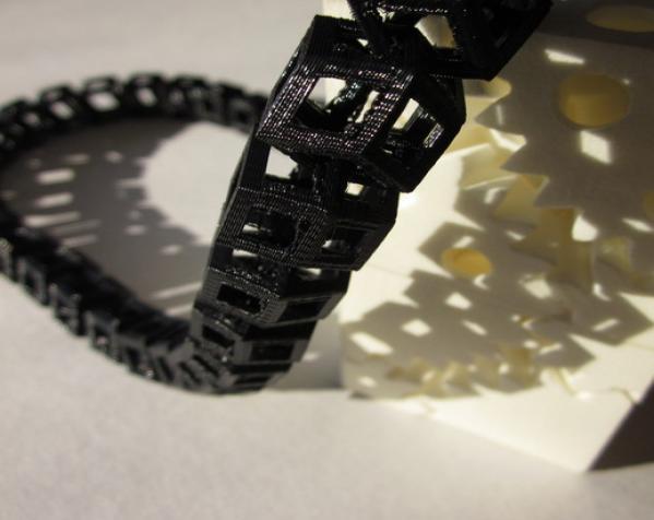 Dodeca圆环链 3D模型  图3