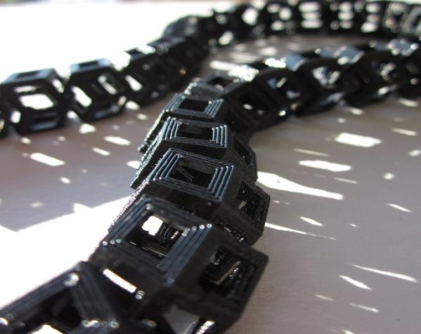 Dodeca圆环链 3D模型  图5