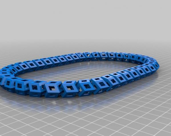 Dodeca圆环链 3D模型  图6