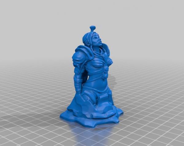 骑士 3D模型  图3