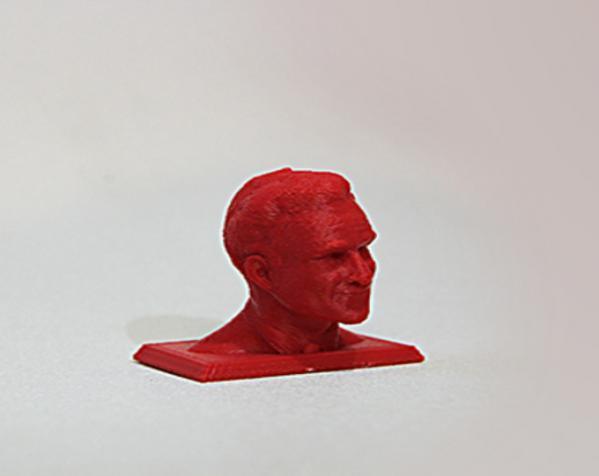 米特·罗姆尼 头像模型 3D模型  图2