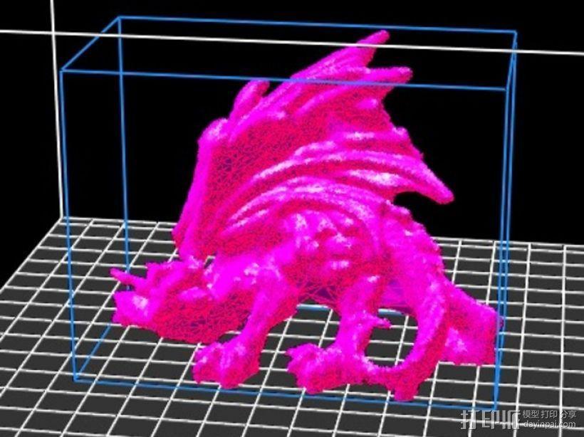 黑龙 3D模型  图2