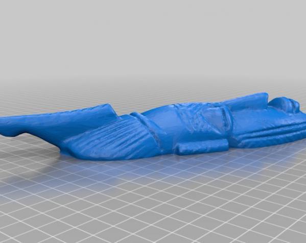 非洲面具 壁挂 3D模型  图3