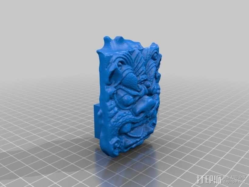 食人怪 Ogre 雕像模型 3D模型  图1