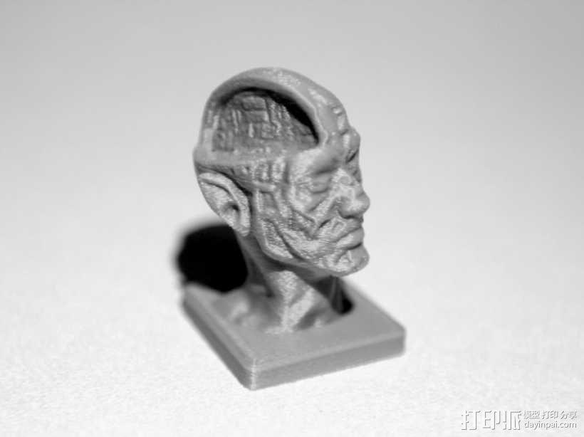 丧尸 雕像模型 3D模型  图1
