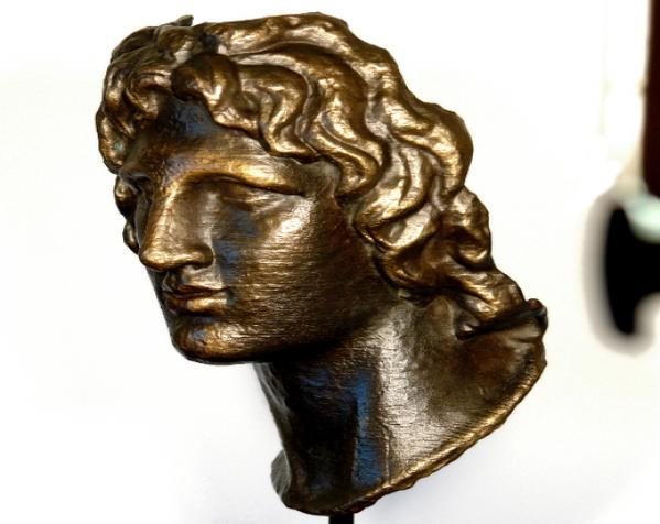 亚历山大大帝 雕像模型 3D模型  图4