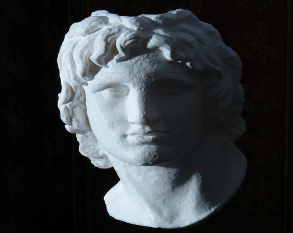 亚历山大大帝 雕像模型 3D模型  图5